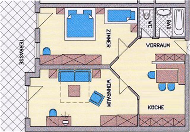 Haus Barbara Ferienwohnung Zimmer Fiss