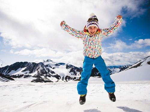 Familien sind in Tirol immer gerne gesehen
