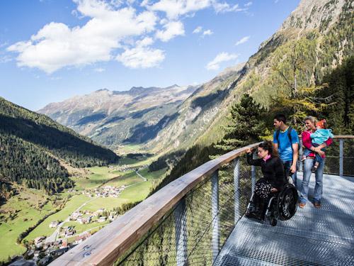 Barrierefreier Urlaub ohne Hindernisse in Tirol